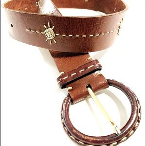 🎃 Brown Brighton Belt Size Medium